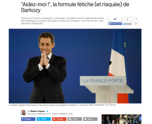 Communication politique et Nicolas Sarkozy