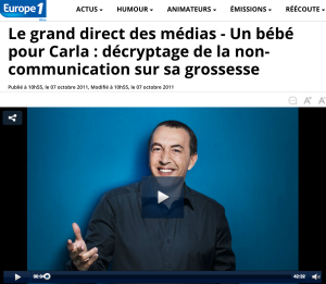 Le grand direct des médias, Europe 1